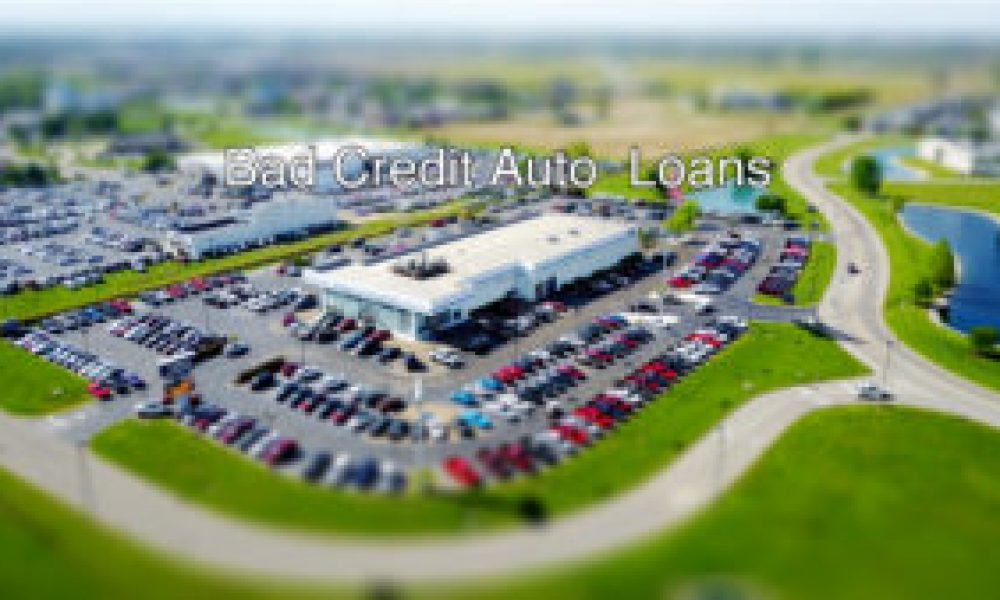 Bad Credit Auto Loans – What to Look For