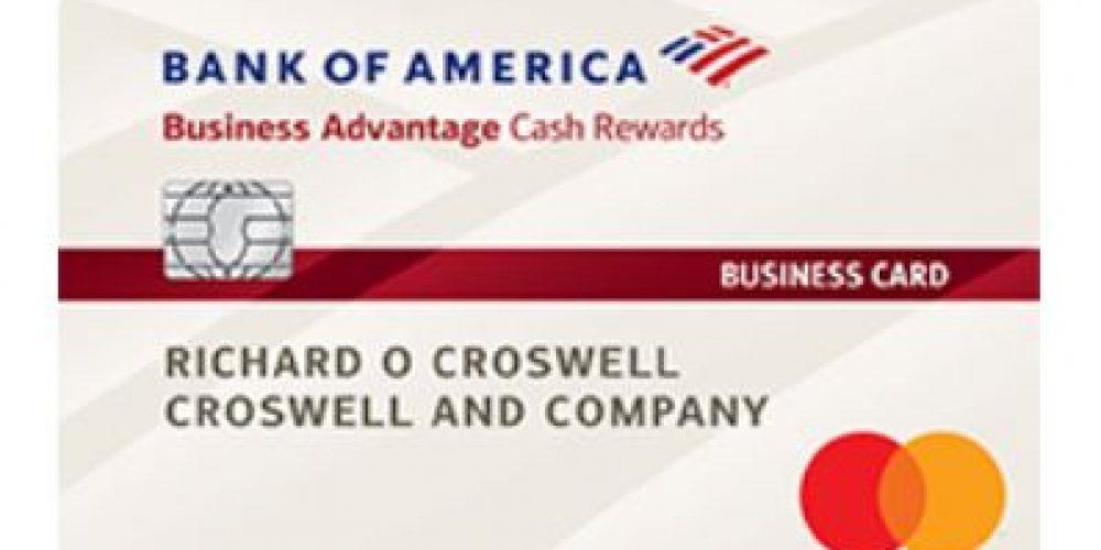 Bank of America $300 Cash Rewards Business Card Offer