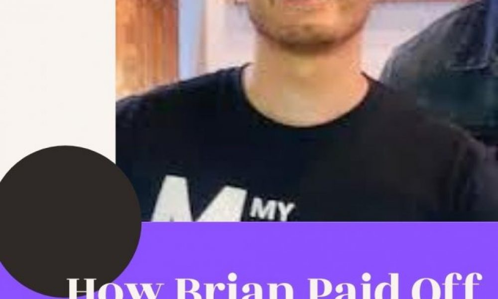 How Brian Paid Off $30,000 in Student Loan Debt His First Year Out of College